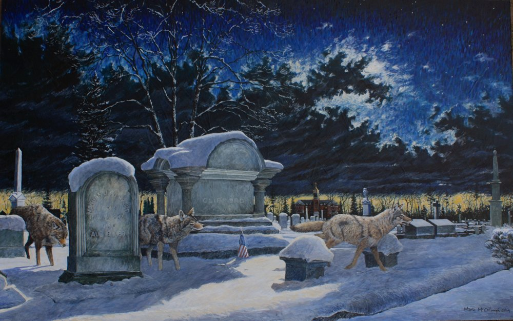 """The Ghosts of Evergreen Cemetery by Mark McCullough"