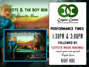 Upcoming Events – Coyote Lives in Maine